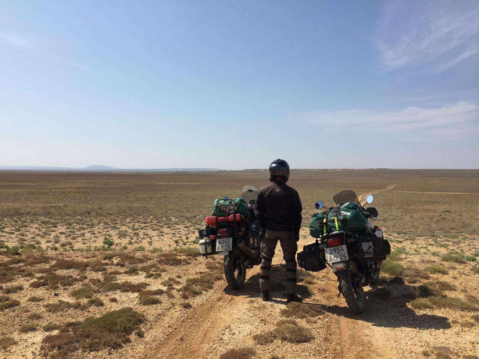 Мотопутешествие Казахстан