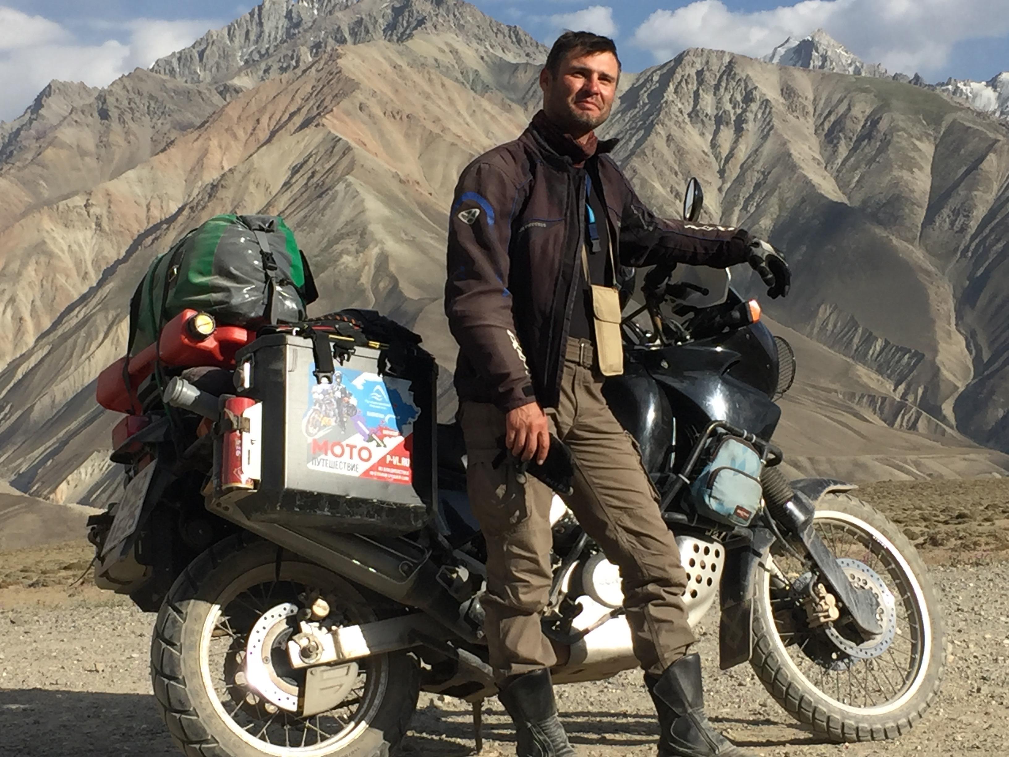 На мотоцикле по Таджикистану