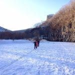 Лыжная прогулка через красивейшее Ущелье!, Путешественник