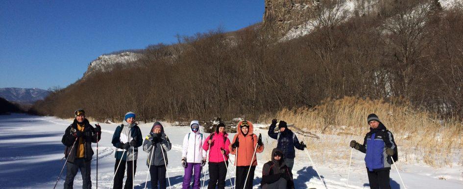 Лыжная прогулка через красивейшее Ущелье!