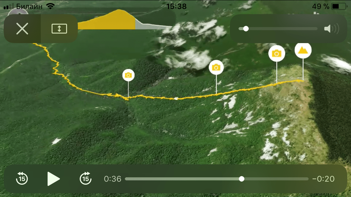 "{:ru}""Альпийские склоны"" горы ТУМАННАЯ{:}{:en}""Alpine meadows"" of the mountain Misty (m. Tumannaya){:}, Путешественник"