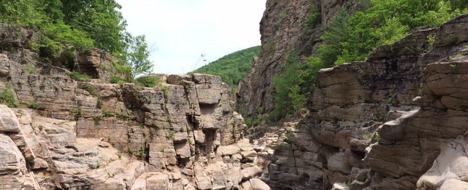 Водопады реки Милоградовка