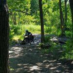 На мотоцикле в бухту Краковка