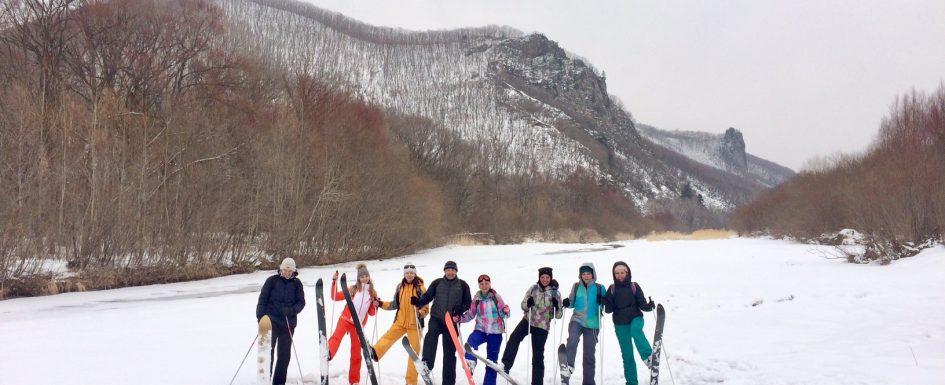 Начало весны на лыжах